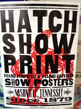 'Hatch Print Show' Graphic Design Style
