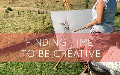 Finding Time To Be Creative