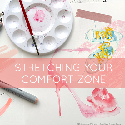 Stretching the comfort zone of your creativity