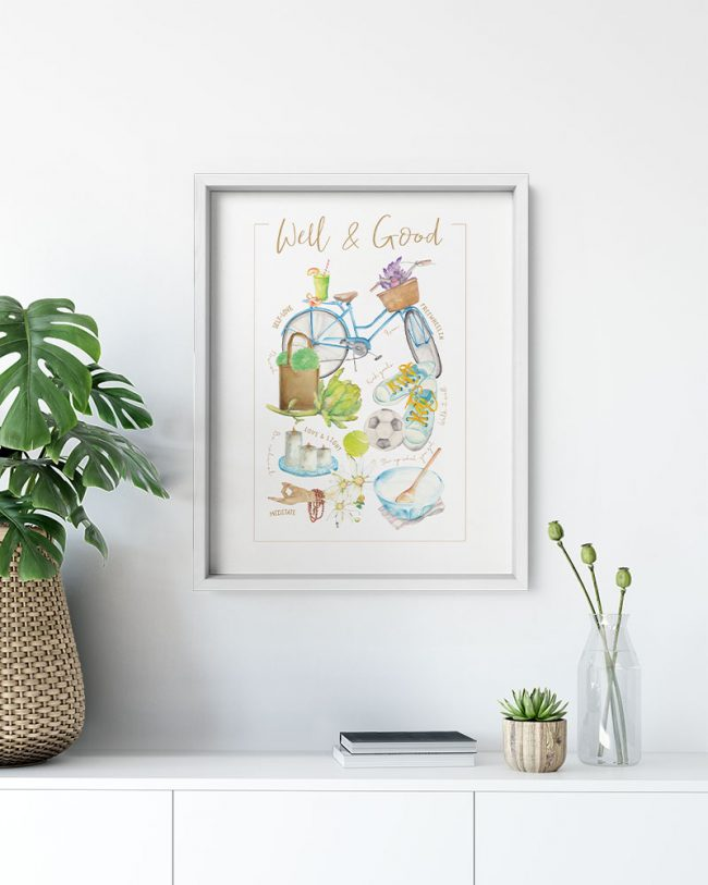 Well and Good Poster Print