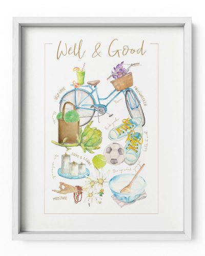 Well & Good Poster Print