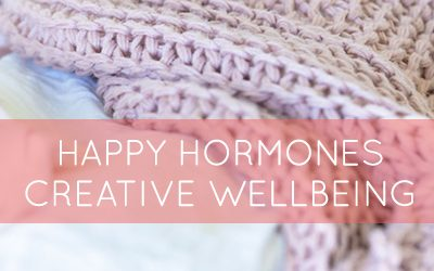 Happy hormones for creative wellbeing