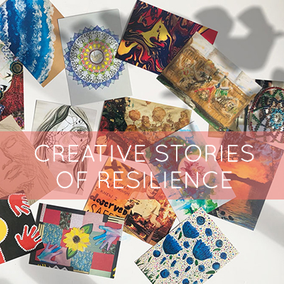 Stories of resilience told through the power of the creative process