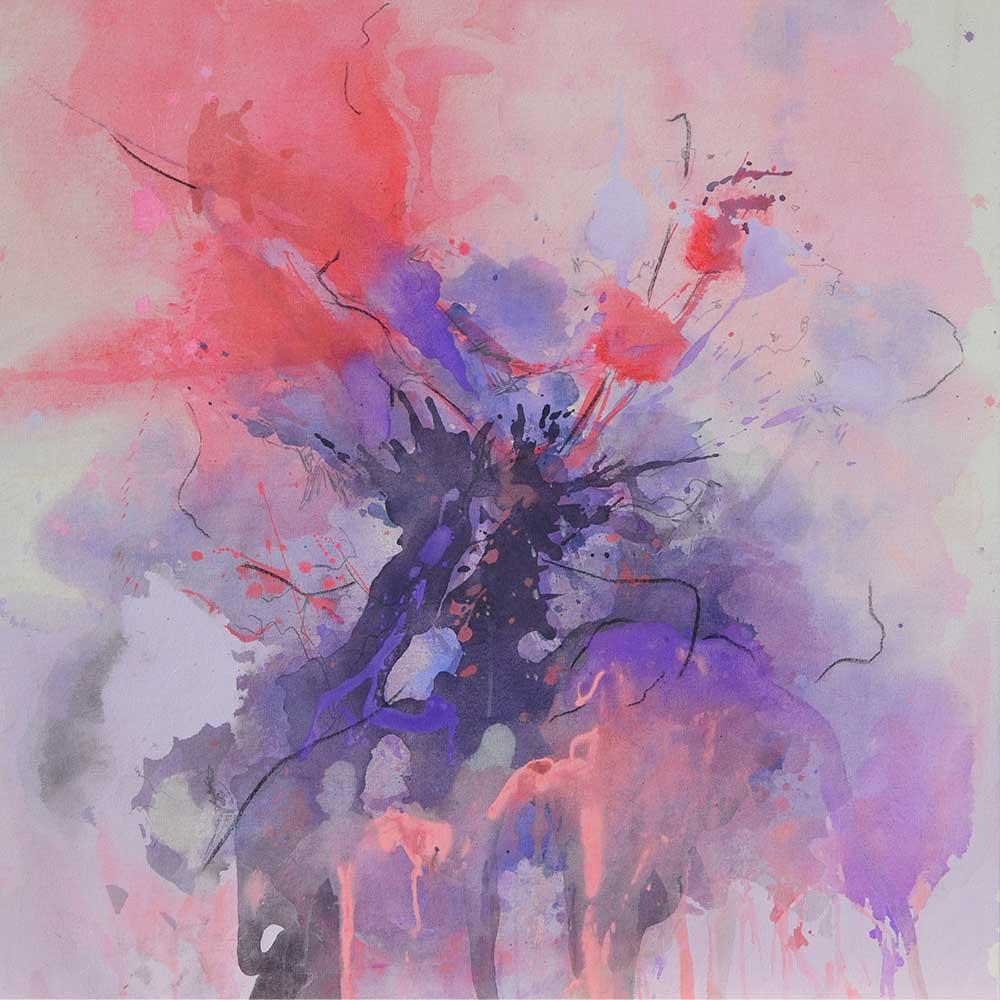 Amanda-O'Bryan-Artist---No-Shrinking-Violet-90-x-90-cm