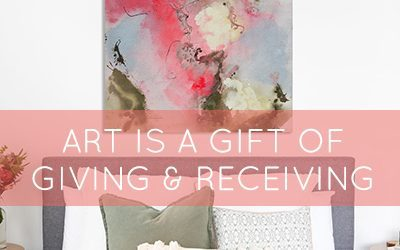 Art is a gift of giving and receiving