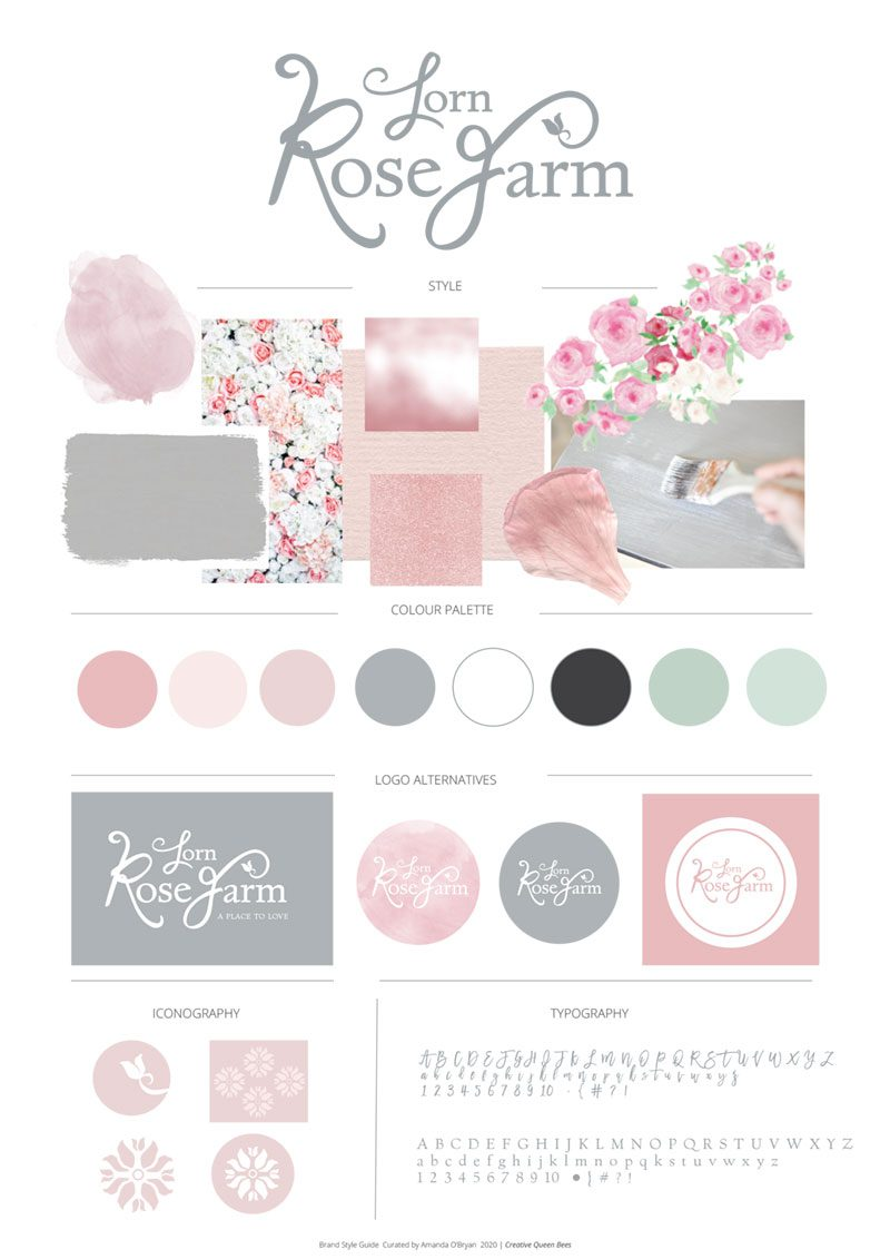 Lorn-Rose-Farm-Mood-Board_1 by Creative Queen Bees
