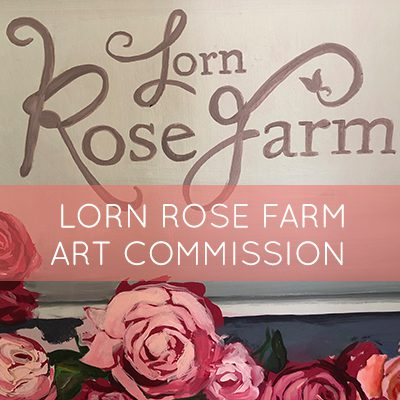 The Lorn Rose Farm, Mural Art Commission
