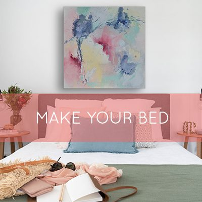 Make your bed, change your life and improve your creativity