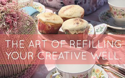Friendship and the art of refilling your creative well