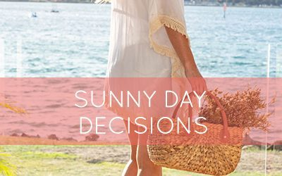 Are sunny day decisions draining your creative energy?