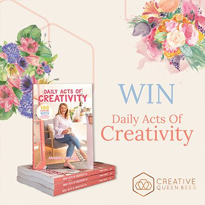 International Womens Day, 'Daily Acts of Creativity' Book Giveaway