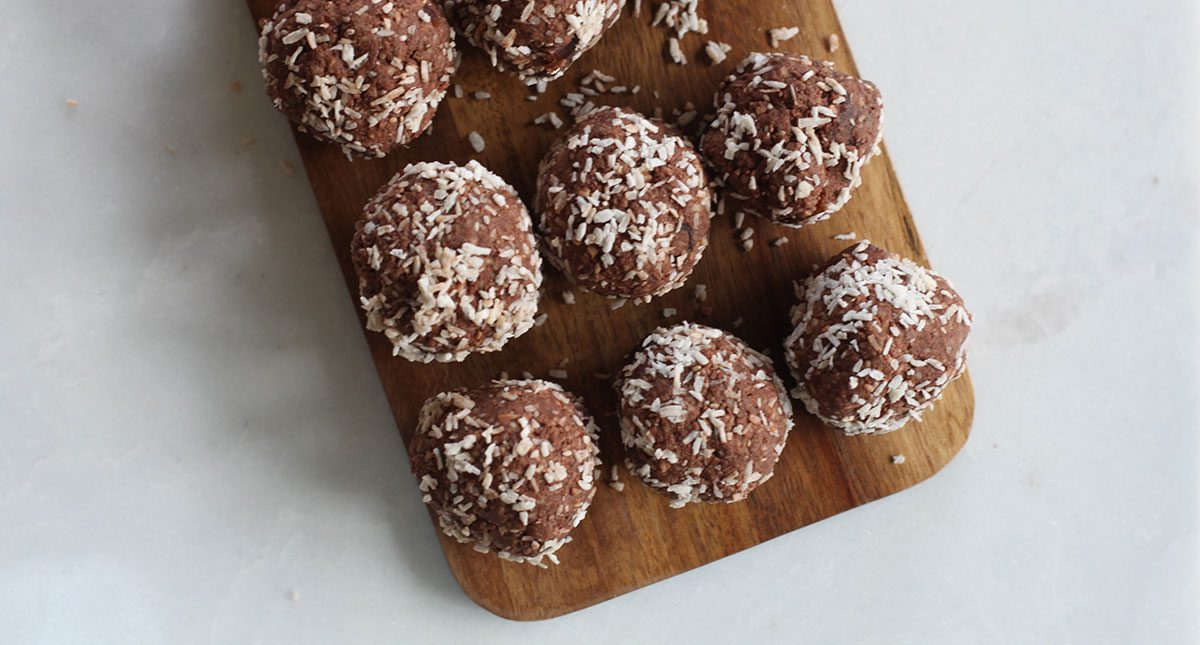 Nutritious bliss balls keep your creative energy high