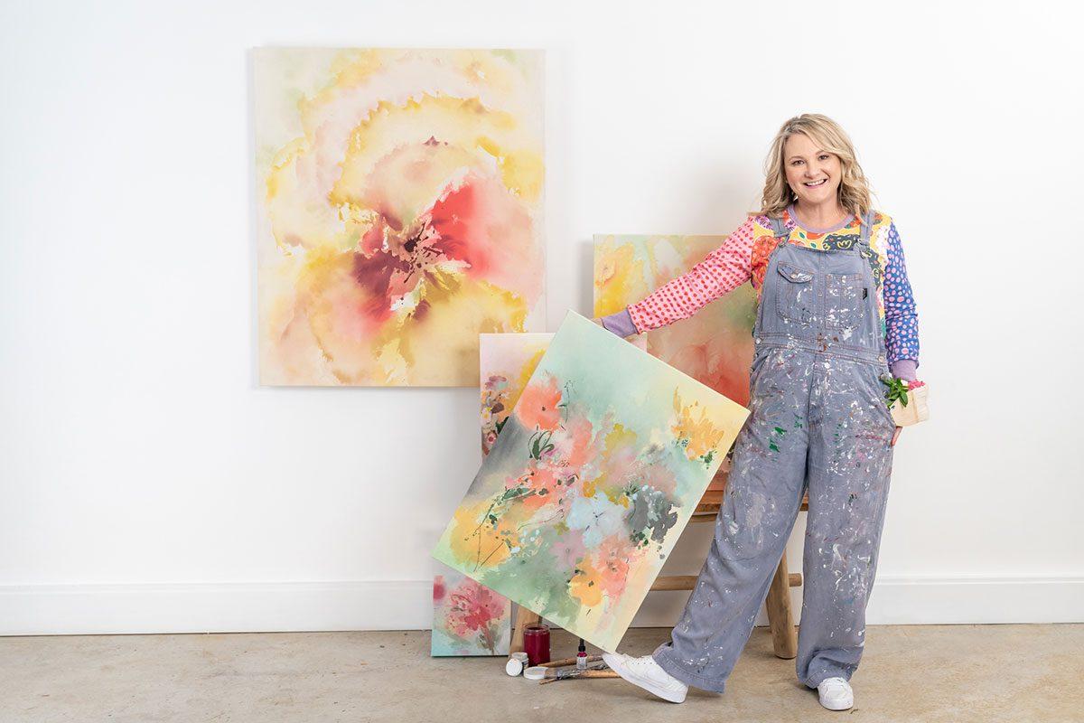 Amanda-O'Bryan Artist--UNFURL-Exhibition