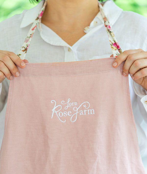 Lorn Rose Farm Brand Design by Amanda O'Bryan Creative Queen Bees