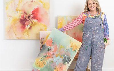 Unfurl art exhibition – paintings by Amanda O'Bryan